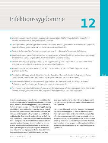 Kapitel 12. Infektionssygdomme - Statens Institut for Folkesundhed