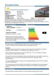 KB Afd. 23 - Energimærkning Rækkehus.pdf - Kolstrup Boligforening