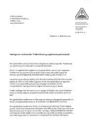 Høringssvar fra menghedsråd i Københavns ... - Kirkeministeriet