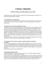 Referat fra ordinær Generalforsamling 13. Marts 2012 - Gribskov ...