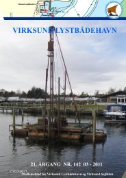 Klubblad marts 2011 - Virksund Lystbådehavn