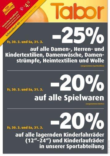 25% - Tabor