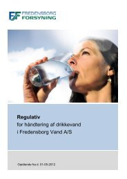 Vandforsyning - Fredensborg Forsyning A/S