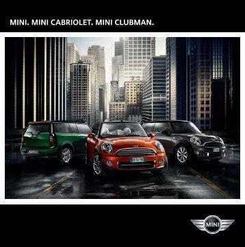 mini, mini cabriolet og clubman 2013 (pdf)