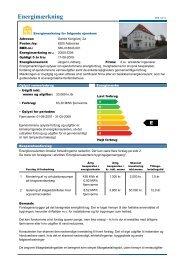 KB Afd. 22 - Energimærkning Gl. Kongevej.pdf - Kolstrup Boligforening