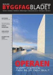 Byggfagbladet 4 2007 - Tømrer og Byggfagforeningen