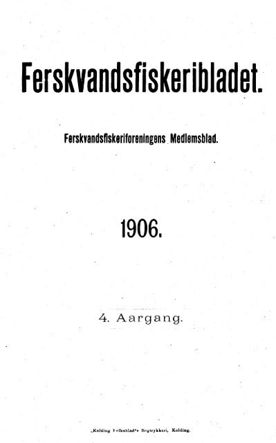 Ferskvandsfiskeribladet 1906 - Runkebjerg.dk