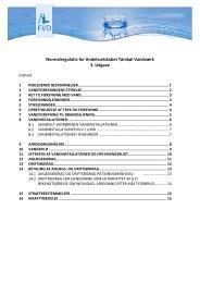 Regulativ - Andelsselskabet Tørsbøl Vandværk