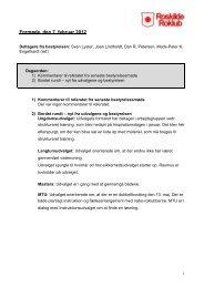 Se referatet fra mødet den 7. februar 2012 - Roskilde Roklub