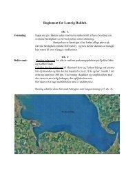 Reglement for Lemvig Roklub, okt 2011 (PDF)