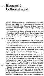 Gottwald-kuppet (side 43-81) - Arne Glud