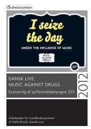 Dansk live - Sundhedsstyrelsen