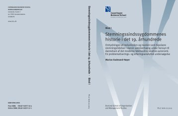 BIND_1_(s. 1-410)_Marius Gudmand-Høyer.pdf - OpenArchive@CBS
