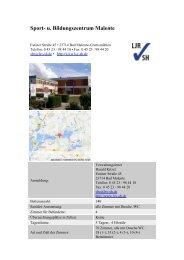 Sport- u. Bildungszentrum Malente