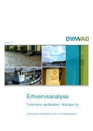 Erhvervsanalyse (PDF) - Cittaslow-Mariager.dk