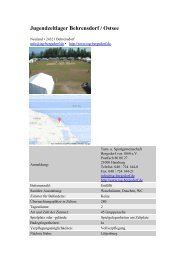 Jugendzeltlager Behrensdorf / Ostsee