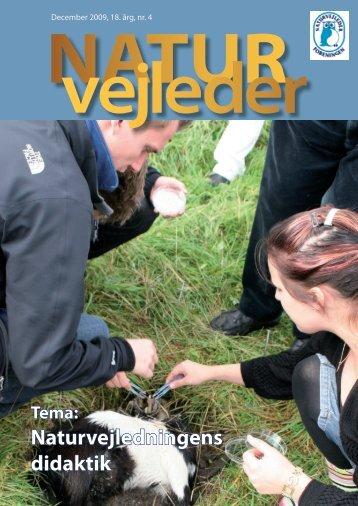 Naturvejledningens didaktik - Naturvejlederforeningen i Danmark
