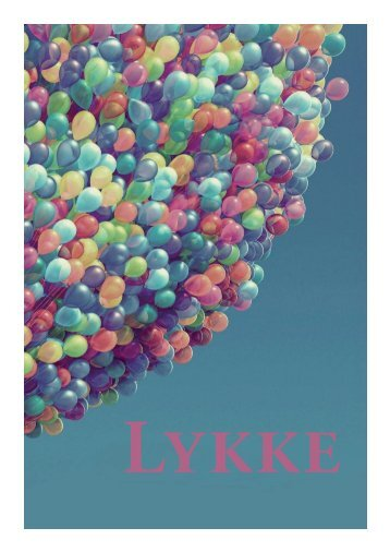 Magasinet 'Lykke' - Julie Lerche