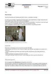 Titel Klovn for livet Final Cut Production for TV2 ... - CFU film og tv