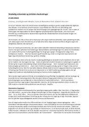Skrøbelig videnskab og skråsikre beslutninger - Lykkepiller.info