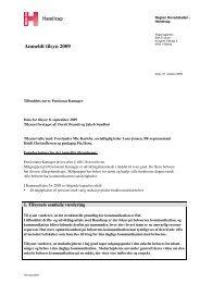 Tilsynsrapport Kamager_2009.pdf - Den Sociale Virksomhed