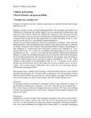 7 Billede og betydning Citat af Messaris: om sprog og billede.