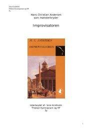 Improvisatoren - Thisted Gymnasium og HF-Kursus