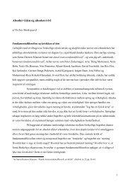 Absolutisme og globalskepticisme - Torben Munksgaard