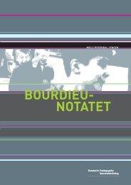 BOURDIEU- NOTATET - Institut for Uddannelse og Pædagogik (DPU)