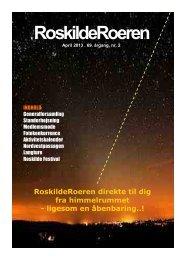 Læs Roeren fra april 2013 - Roskilde Roklub