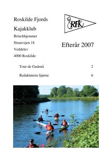 Efterår 2007 - Roskilde Kajakklub