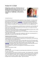 Lone Kierkegaard - Cochlear Implant Foreningen