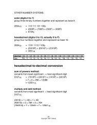 Binary, Decimal, Hexadecimal Conversion Exercises     - East82 com