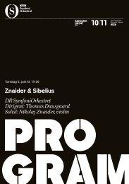 Hent programmet til Znaider og Sibelius her - Dr