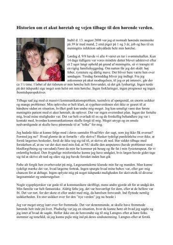 Anne Koch - Cochlear Implant Foreningen