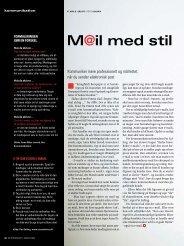 Mail med stil - Omatskrive.dk