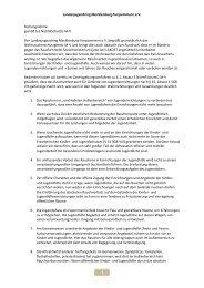 Stellungnahme gemäß § 6 NichtRSchutzG M-V - Landesjugendring ...