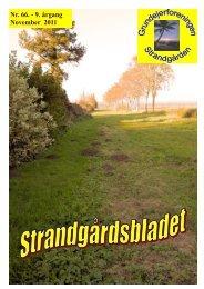 Nr. 66. november 2011 - Velkommen til Strandgården