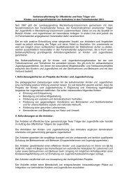 Selbstverpflichtung für öffentliche und freie Träger von Kinder- und ...
