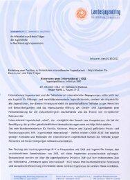 Einladung und Tagesordnung - Landesjugendring MV - Schwerin