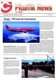 Thule – T/R med Air Greenland