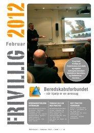 FRIVILLIG Februar 2012 - Beredskabsforbundet