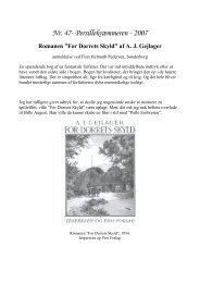 Nr. 47 For Dorrets skyld - Stensballe Lokalhistoriske Arkiv