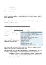 Palle Flebo-Hansen klager over advokat Eivind Frederik Kramme ...