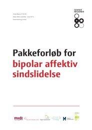 Pakkeforløb for bipolar affektiv sindslidelse