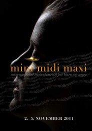 Program mmm-2011 - Minimidimaxi