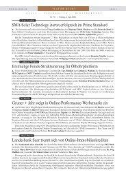 Erstmalige Fonds-Strukturierung für Ölbohrplattform Gruner + Jahr ...