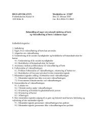 RIGSADVOKATEN Meddelelse nr. 2/2007 Frederiksholms ... - Krim