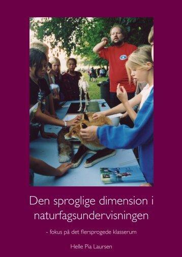 Den sproglige dimension i naturfagsundervisningen