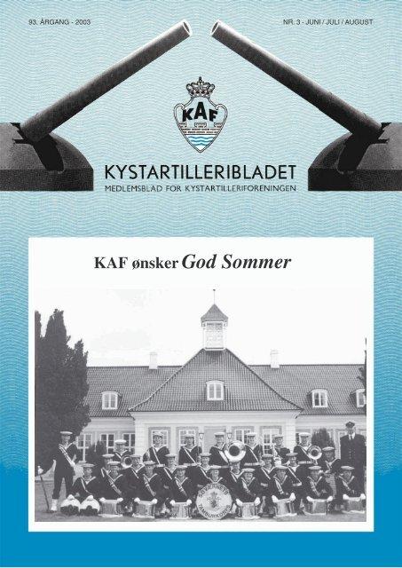 KAF ø nskerGod Sommer - Kystartilleriforeningen